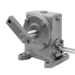 TC43I Right Angle Gear Reducer with DC Motor Frame